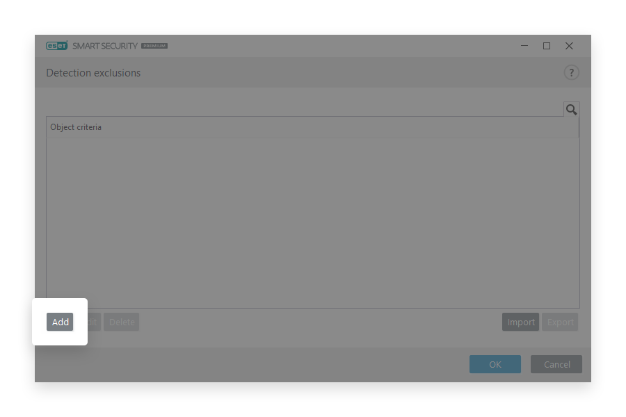 minerstat - Eset - Open Add Exclusions