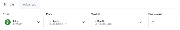 minerstat - Ezil.me ETC - Simple config