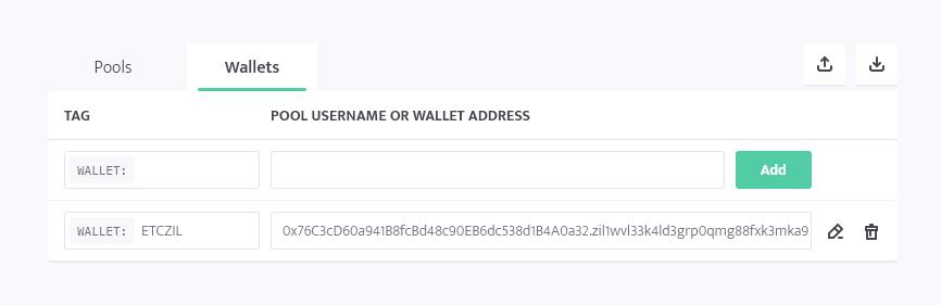 minerstat - Ezil.me ETC wallet