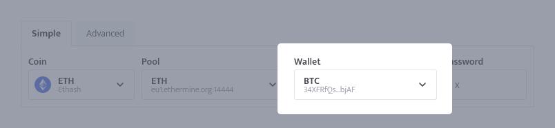 minerstat - Invalid user provided - Incorrect wallet