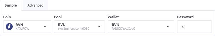 minerstat - RVN config