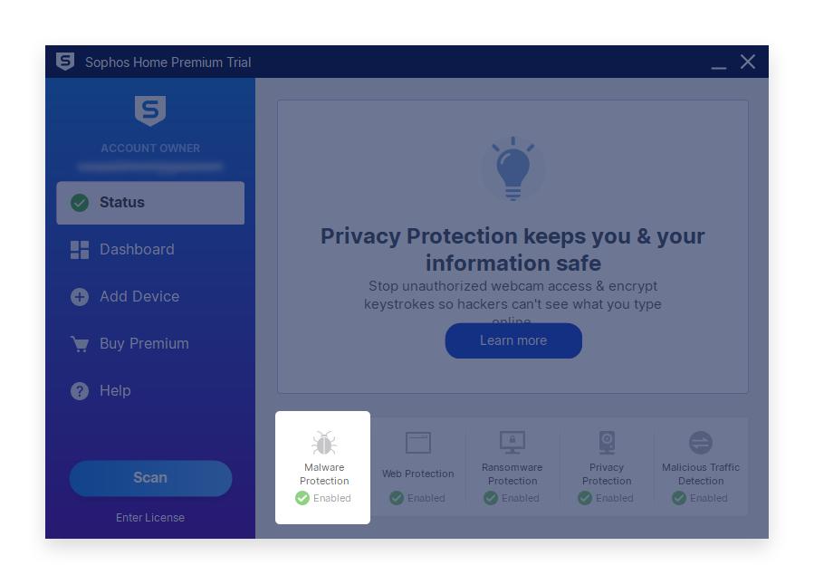 minerstat - Sophos - Open Malware Protection
