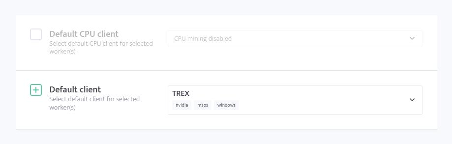 minerstat - T-Rex ETH and CFX dual mining