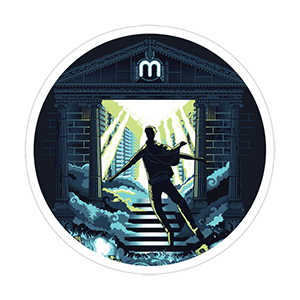 Crypto Mining Haven Sticker