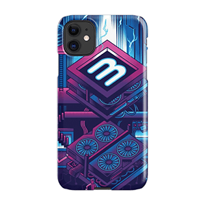 Crypto Mining Venture iPhone Snap Case