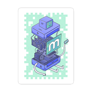 Anatomy of a Miner Sticker