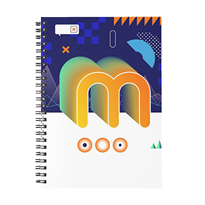 Minerstat Retro Vibes Notebook
