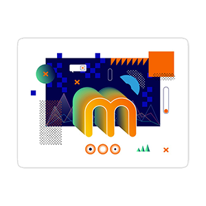 Minerstat Retro Vibes Sticker