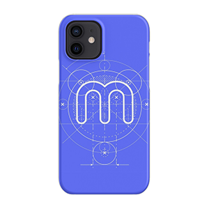 Minerstat Blueprint iPhone Snap Case