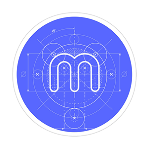 Minerstat Blueprint Sticker