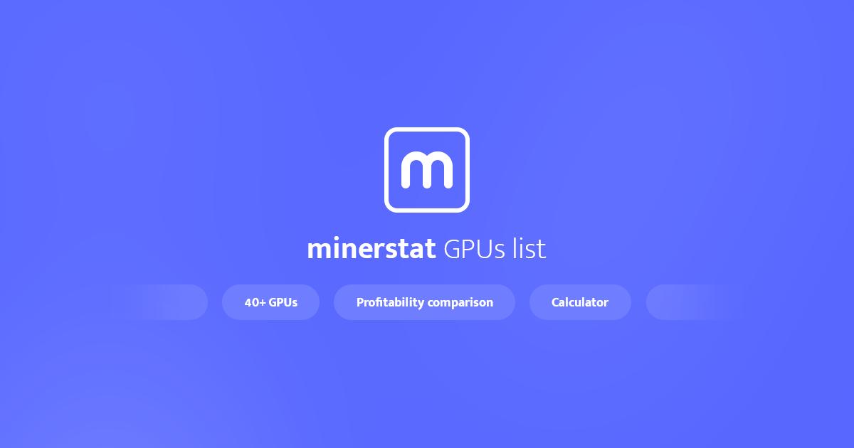 minerstat.com